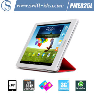 7.85 Inch HD Mtk8312 Dual Core 3G Dual SIM Top 10 Android Tablets (PME825L)
