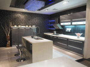 Modern Design Lacquer Series Kitchen Furniture (BR-L003) pictures & photos