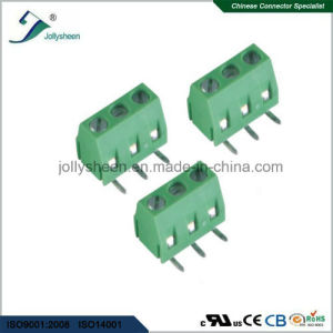 PCB Screw Terminal Blocks Pitch 5.0mm Right Angle DIP Type pictures & photos