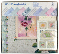 Handmade Paper Customized Scrapbook Album Kit pictures & photos