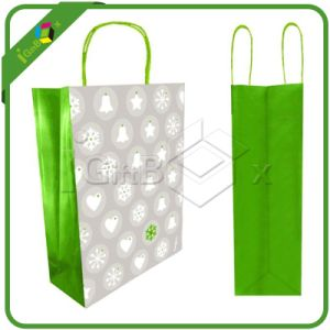 Eco-Friendly Green Custom Design Printed Tote Bag pictures & photos