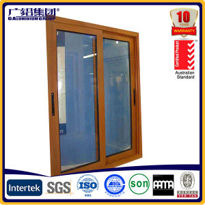 Aluminium Grill Design Office Sliding Window pictures & photos