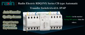 3p/4p 6A-63A CB Type Rdq3nx-B Auto Transfer Switch with High Quality, Automatic Transfer Switch, Atse pictures & photos