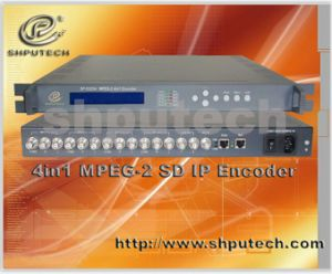 4in1 MPEG-2 IP Encoder (SP-E5204)
