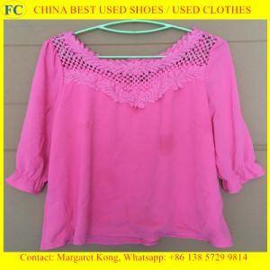2016 Newest and Fashionable Used Grade a Silk Blouse for Africa Market pictures & photos