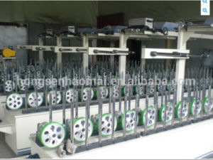 Woodworking Scrap-Coating Profile Wrapping Machine for Window pictures & photos