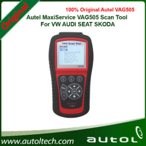 Handheld OBD2 Code Reader VAG505 One Year Free Online Software Updates 100% Original Autel MaxiService VAG505 pictures & photos