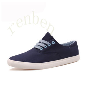 New Men′s Casual Canvas Shoes pictures & photos