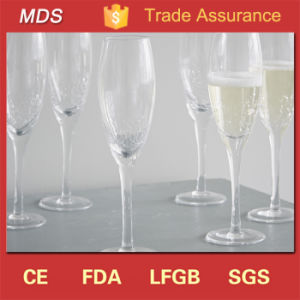 New Products Crackle Ruby Custom Wedding Day Champagne Flutes pictures & photos