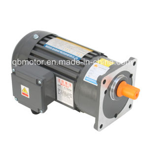 Light Duty Horizontal Gear Reducer 1-Phase (brake) Geared Motor pictures & photos