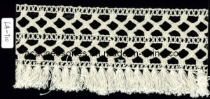 Wide Tassel Cotton Crochet Clunny Lace (LA-T10)