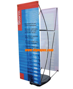 Indoor Solvent and Eco Solvent X Stand Display pictures & photos