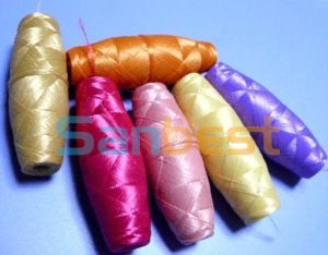 Colorful DTY Cocoon Bobbins Thread for Embroidery 7# pictures & photos