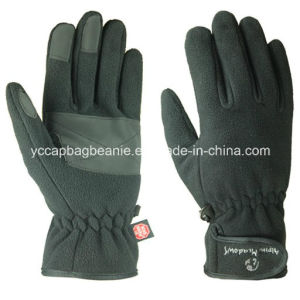 Warm Winter Ski Fleece Glove pictures & photos