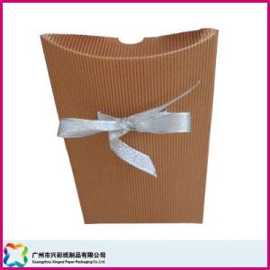 Pillow Shape Paper Box Made of Colored Corrugated Board (XC-3-014) pictures & photos