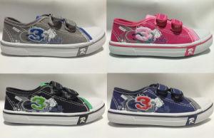 Newest Boy/Girls Canvas Shoes Fashion Children Shoes (HH131-1) pictures & photos