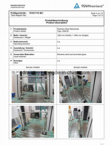 Stainless Steel Handrail Glass Clamp for Glass Balustrade pictures & photos