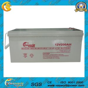 Gel Solar 12V 200ah Wholesale High Capacity Battery pictures & photos