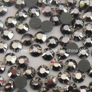 Best Selling Ss20 5mm Jet Hematite Hot Fix Swaro Rhinestone Trimming pictures & photos