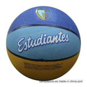 Custom Design Size 6 Rubber Basketball pictures & photos