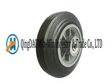 6in Solid Rubber Wheel pictures & photos