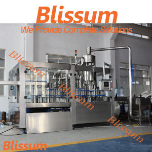 6L Bottle Monobloc Washing Filling Capping Machine/Machinery/Equipment/System/Unit pictures & photos