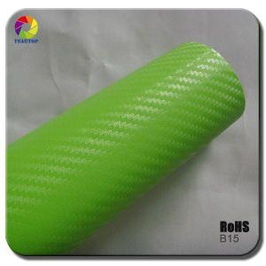 Tsautop 3D Carbon Fiber Vinyl for Car Wrapping&B15 pictures & photos