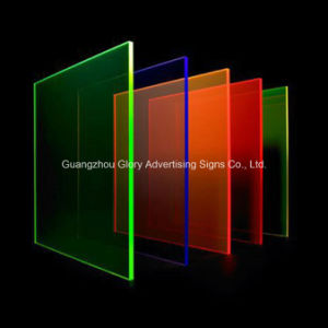 High Transparency PMMA Cast Acrylic Sheet for LED Lighting pictures & photos