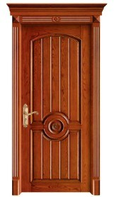 Roman Style Solid Wooden Door pictures & photos