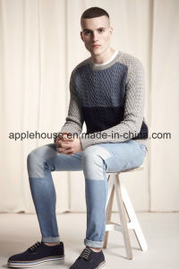 Men′s Fashion Long Sleeve Knitted Sweater