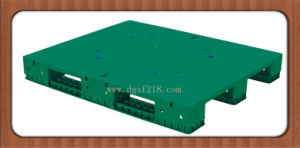 UK Customized Heavy Duty Flat Plastic Pallet for Racking Manufacturer