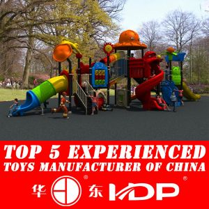 2014 Hotsale Plastic Outdoor Playground Equipment (HD14-078A) pictures & photos