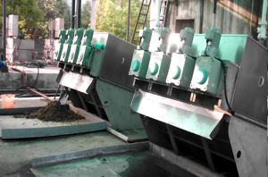 Techase Multi-Plate Screw Press/Paten Product/Own Brand/Industrial Waste Water Treatment pictures & photos