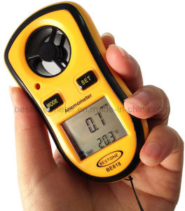 Digital Anemometer, Wind Speed Meter, Anemograph (BE818) pictures & photos