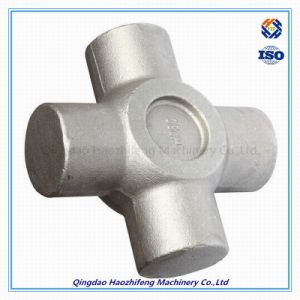 Stainless Steel Auto Part Cross Coupling by Forged Processing pictures & photos