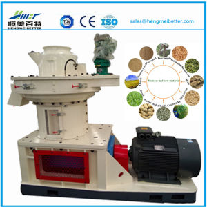 Large Scale Ring Die Vertical Dobule Sizes Grass Wood Sawdust Alfalfa Bamboo Pelletizer Plant Machinery Price pictures & photos