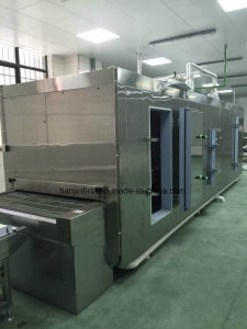 Tunnel Quick Food Freezer with CAS Function (1000Kg/H Type) pictures & photos