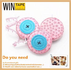 Mini Portable OEM Custom Fabric Measuring Tape Under Dollar Items pictures & photos