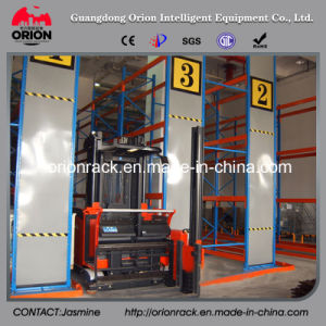Heavy Duty Very Narrow Aisle Display Rack pictures & photos