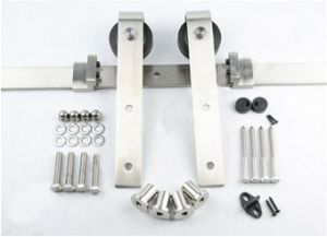 Wholesales Stainless Steel Sliding Barn Door Hardware pictures & photos