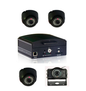 Cheap Prices! ! 64GB 3G Vehicle CCTV Mobile 4CH HDD Mobile DVR pictures & photos