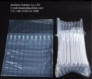 Bubble Cushion Wrap Wine Bottle Air Column Packaging, Air Filled Bags Packaging pictures & photos