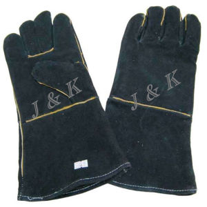 Welding Gloves (JK43113) pictures & photos