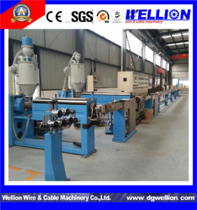 High Quality PVC Cable Extrusion Line pictures & photos