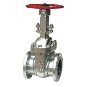 API Cast Steel Flange End Gate Valve