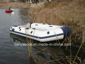 Liya 3.6m CE Approved Korea PVC Boat Inflatable Assault Boat pictures & photos