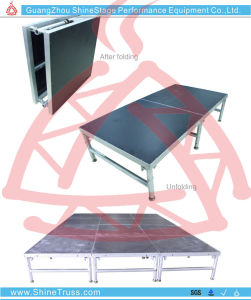 Aluminum Quick Install Foldable Stage Performance Stage for Hot Sale pictures & photos