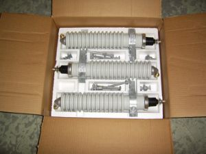Porcelain Surge Arrester 18kv pictures & photos