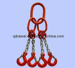 Steel Chain Snap Hook and Ring