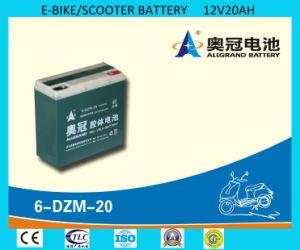 6-Dzm-20 Battery 12V20ah Gel Battery for E-Bike/Scooter